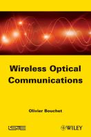 Cover image for Wireless optical communications