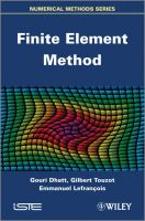 Cover image for Finite element method
