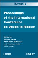 Cover image for International conference on weigh-in-motion : ICWIM 6