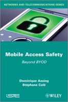 Cover image for Mobile access safety : beyond BYOD