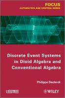 Cover image for Discrete event systems in dioid algebra and conventional algebra