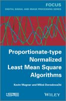 Cover image for Proportionate-type normalized least mean square algorithms