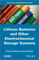 Cover image for Lithium batteries and other electrochemical storage systems