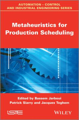 Cover image for Metaheuristics for production scheduling