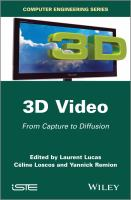Cover image for 3D video : from capture to diffusion