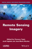 Cover image for Remote sensing imagery