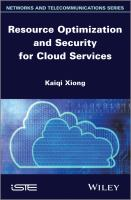 Cover image for Resource optimization and security for cloud services