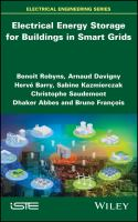 Cover image for Electrical Energy Storage for Buildings in Smart Grids