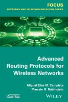 Cover image for Advanced routing protocols for wireless networks