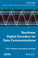 Cover image for Nonlinear digital encoders for data communications