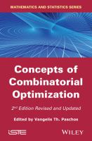 Cover image for Concepts of Combinatorial Optimization
