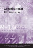 Cover image for Organizational effectiveness