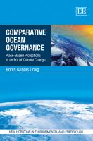 Cover image for Comparative ocean governance : place-based protections in an era of climate change