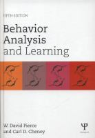 Cover image for Behavior analysis and learning