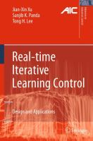 Cover image for Real-time iterative learning control : design and applications