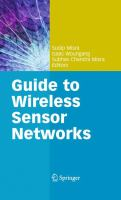 Cover image for Guide to wireless sensor networks