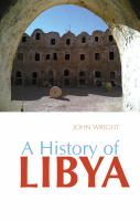 Cover image for A history of Libya