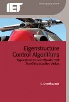Cover image for Eigenstructure control algorithms : applications to aircraft/ rotorcraft handling qualities design