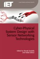 Cover image for Cyber-physical system design with sensor networking technologies