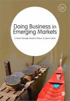 Cover image for Doing business in emerging markets