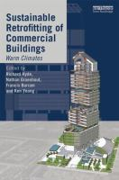 Cover image for Sustainable retrofitting of commercial buildings : warm climates