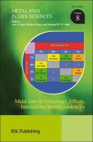 Cover image for Metal ions in toxicology : effects, interactions, interdependencies