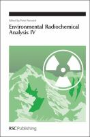 Cover image for Environmental radiochemical analysis IV