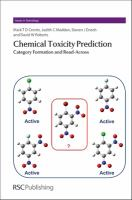 Cover image for Chemical toxicity prediction : category formation and read-across
