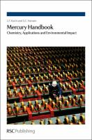 Cover image for Mercury handbook : chemistry, applications and environmental impact