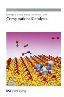 Cover image for Computational catalysis