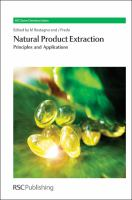 Cover image for Natural product extraction : principles and applications