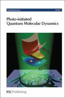 Cover image for Photo-initiated quantum molecular dynamics : University of Nottingham, United Kingdom, 15-17 April 2013