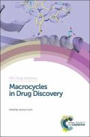 Cover image for Macrocycles in drug discovery