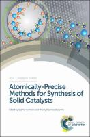 Cover image for Atomically-precise methods for synthesis of solid catalysts