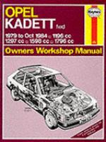 Cover image for Opel kadett owners workshop manual
