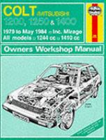 Cover image for Colt 1200, 1250 & 1400 owners workshop manual