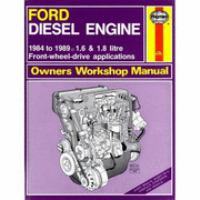 Cover image for Ford diesel engine owners workshop manual