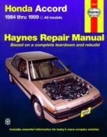 Cover image for Honda accord automotive repair manual