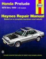 Cover image for Honda prelude automotive repair manual