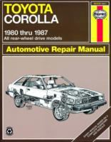 Cover image for Toyota corolla RWD automotive repair manual