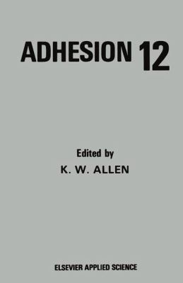 Cover image for Adhesion 12