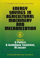 Cover image for Energy savings in agricultural machinery and mechanization