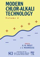 Cover image for Modern chlor-alkali technology