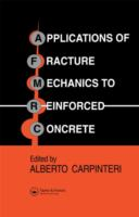 Cover image for Applications of fracture mechanics of reinforced concrete