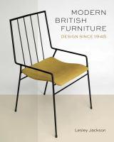 Cover image for Modern British furniture : design since 1945