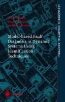 Cover image for Model-based fault diagnosis in dynamic systems using identification techniques