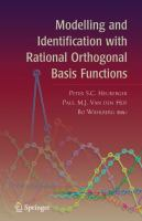 Cover image for Modelling and identification with rational orthogonal basis functions