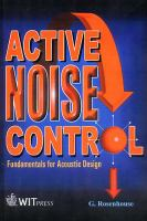 Cover image for Active noise control
