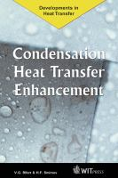 Cover image for Condensation heat transfer enhancement