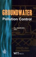 Cover image for Groundwater pollution control